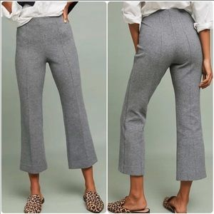 [Cartonnier by Anthro] Double Knit Cropped Flares